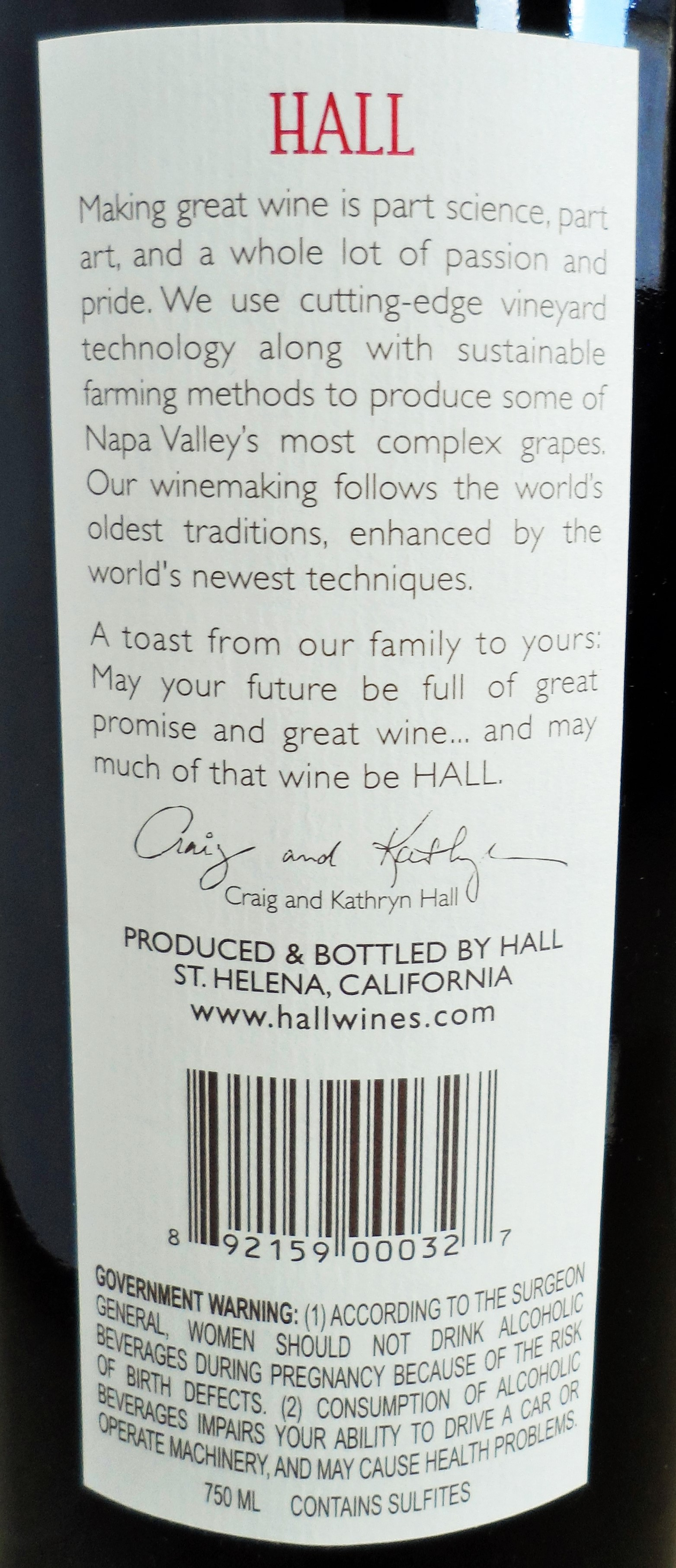 Hall Merlot Napa Valley Review