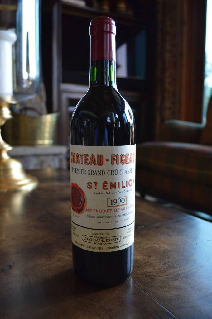Chateau Figeac 1990 Full Bottle