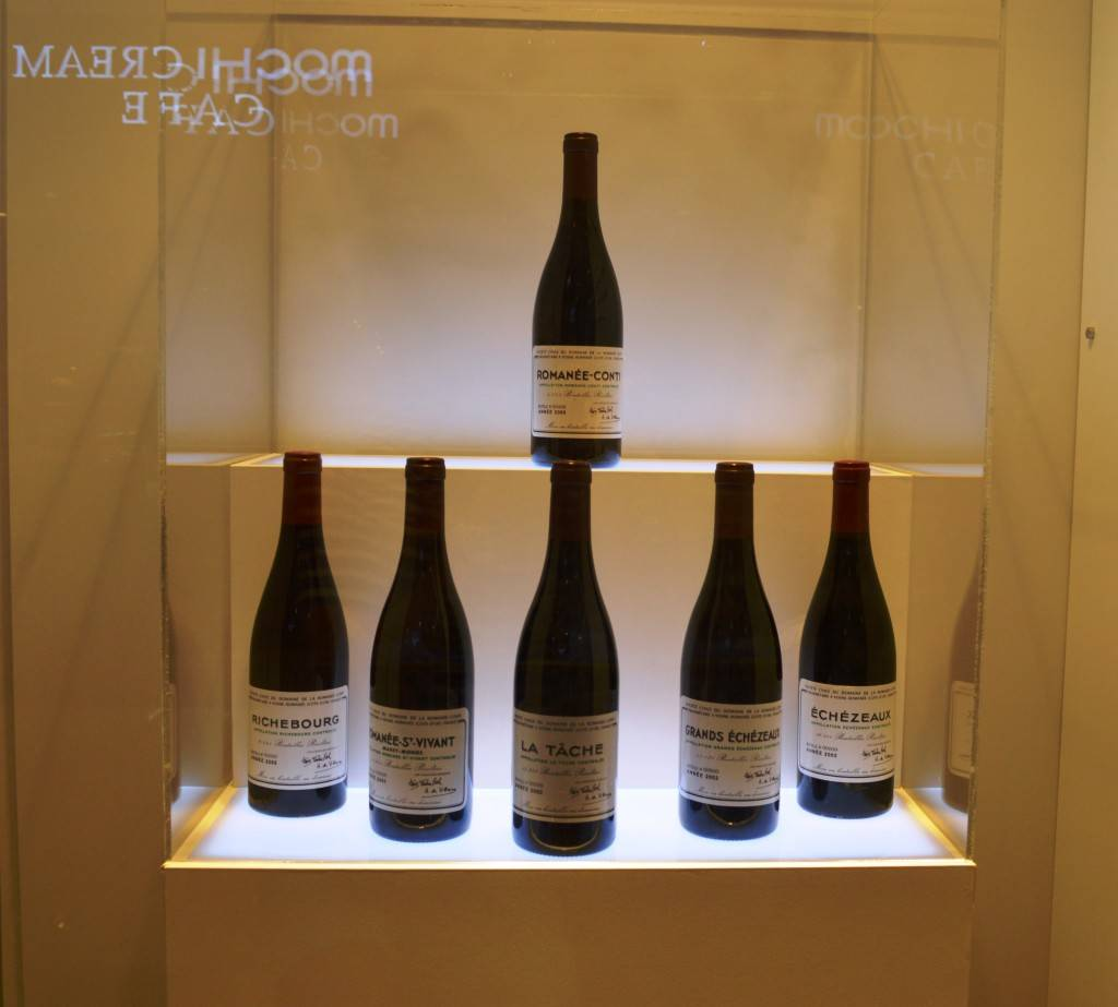 Wine in Korea DRC