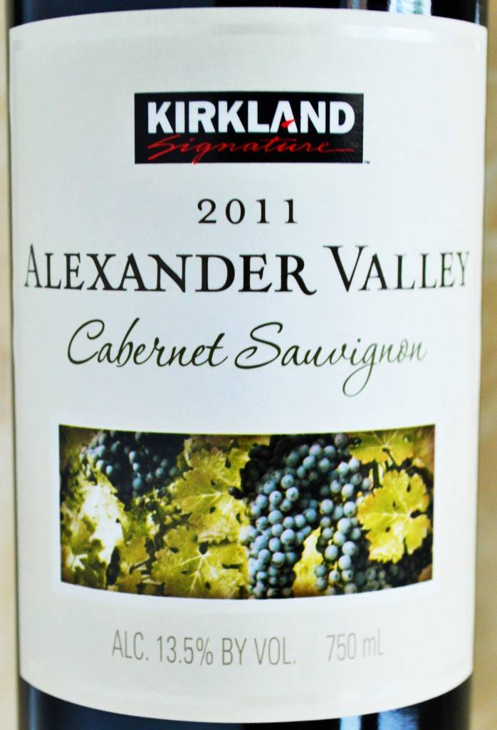Kirkland Signature 2011 Alexander Valley Cabernet Sauvignon Review