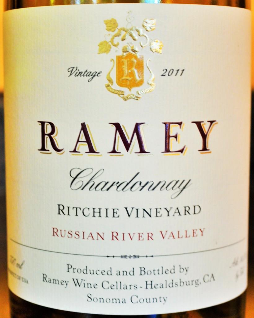 Ramey Chardonnay Ritchie Vineyard Russian River Valley 2011