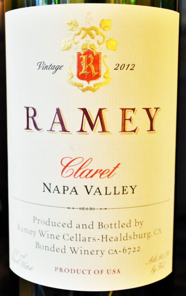Ramey Claret Napa Valley 2012