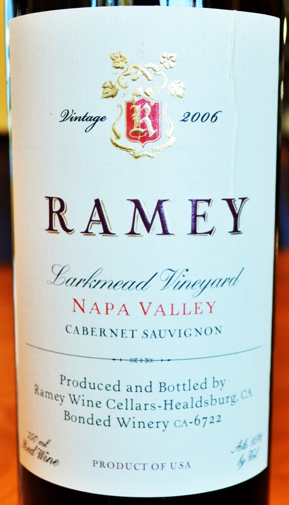 Ramey Larkmead Vineyard Cabernet Sauvignon 2006