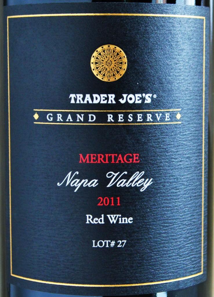 Trader Joe's Grand Reserve Meritage