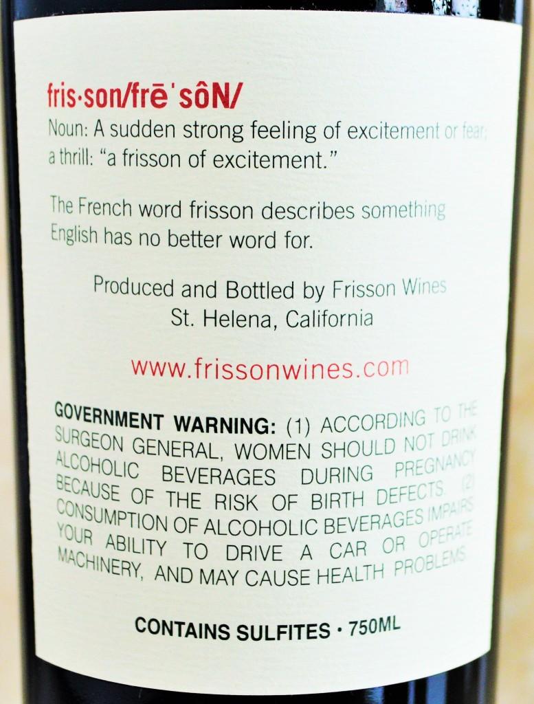 Frisson Wines