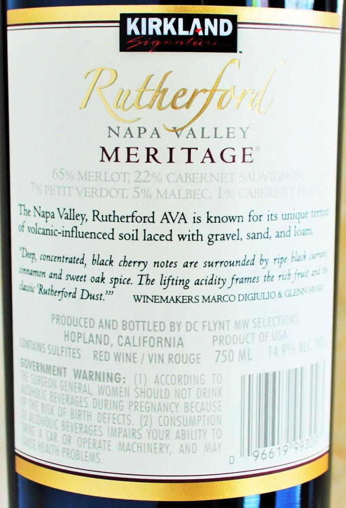 Kirkland Signature Rutherford Meritage