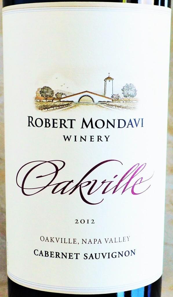 Robert Mondavi Oakville Cabernet
