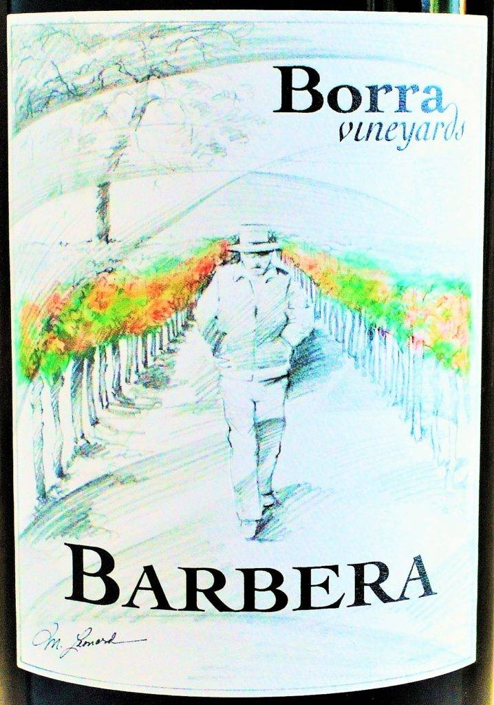Borra Vineyards Barbera